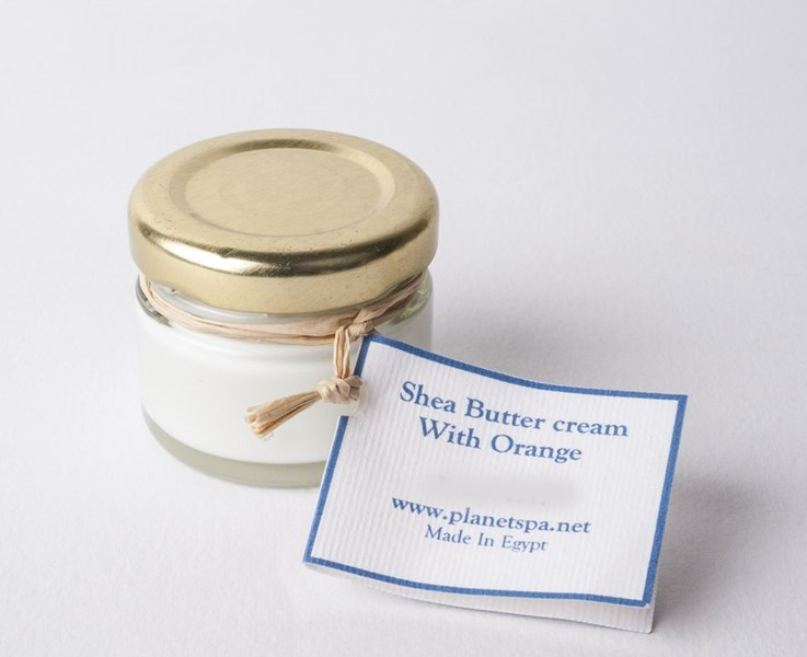 Shea Butter Cream With Orange