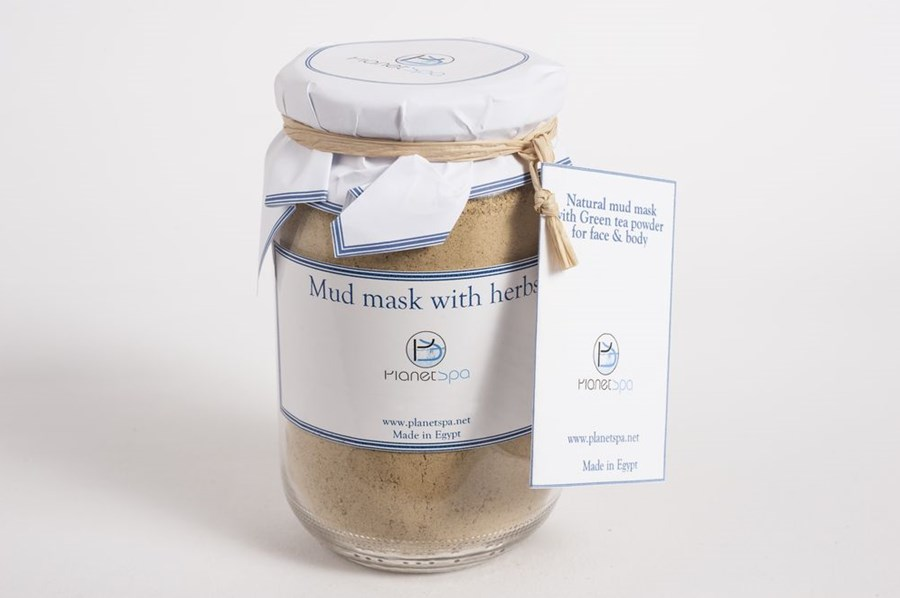 Natural Mud Mask With Green Tea Powder For Face & Body